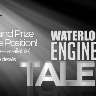 We're Looking for Waterloo's Best Engineer!